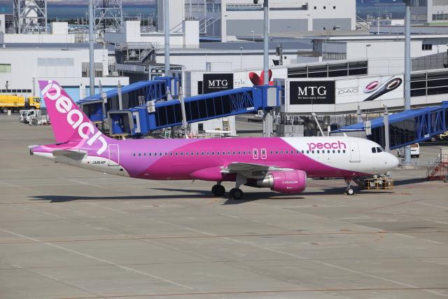 kwnbさんが、中部国際空港で撮影したピーチ A320-214の航空フォト(飛行機 写真・画像)