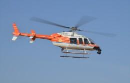 ヘリオスさんが、東京ヘリポートで撮影した新日本ヘリコプター 407の航空フォト(飛行機 写真・画像)