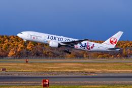 監督さんが、新千歳空港で撮影した日本航空 777-246の航空フォト(飛行機 写真・画像)