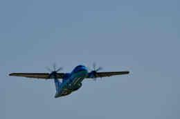平凡なおっちゃんさんが、伊丹空港で撮影した天草エアライン ATR-42-600の航空フォト(飛行機 写真・画像)
