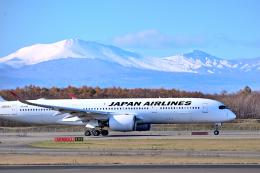 監督さんが、新千歳空港で撮影した日本航空 A350-941の航空フォト(飛行機 写真・画像)