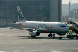 maverickさんが、香港国際空港で撮影したジェットスター・アジア A320-232の航空フォト(飛行機 写真・画像)