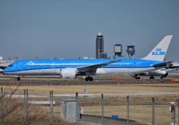 雲霧さんが、成田国際空港で撮影したKLMオランダ航空 787-9の航空フォト(飛行機 写真・画像)