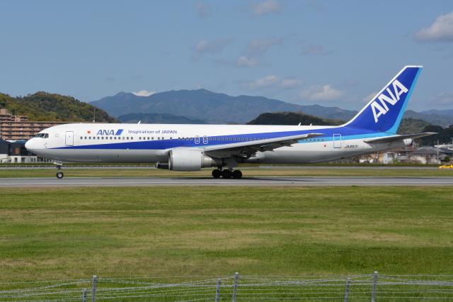 Deepさんが、松山空港で撮影した全日空 767-381/ERの航空フォト(飛行機 写真・画像)