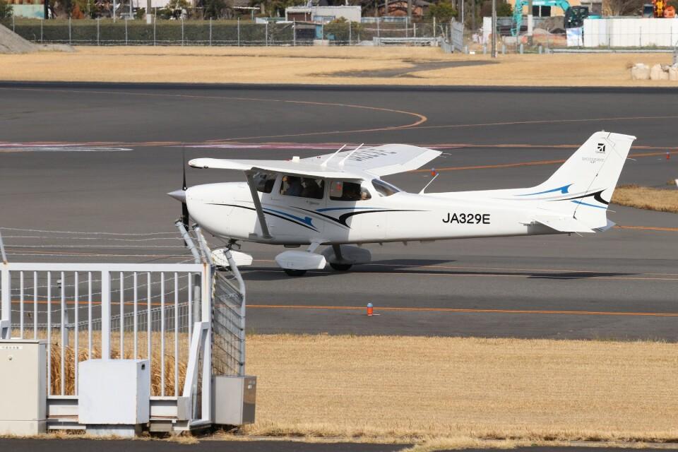 EosR2さんの日本法人所有 Cessna 172 (JA329E) 航空フォト