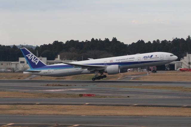 ショウさんが、成田国際空港で撮影した全日空 777-381/ERの航空フォト(飛行機 写真・画像)