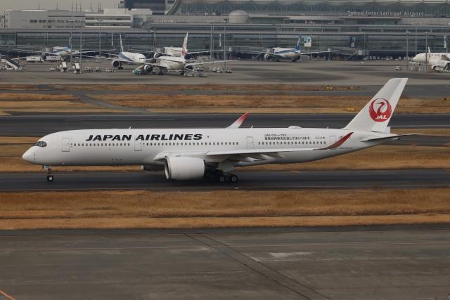 SIさんが、羽田空港で撮影した日本航空 A350-941の航空フォト(飛行機 写真・画像)