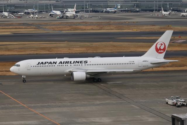 SIさんが、羽田空港で撮影した日本航空 767-346/ERの航空フォト(飛行機 写真・画像)