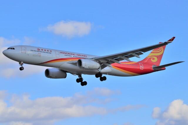 BOEING737MAX-8さんが、成田国際空港で撮影した香港航空 A330-343Xの航空フォト(飛行機 写真・画像)