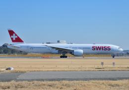 雲霧さんが、成田国際空港で撮影したスイスインターナショナルエアラインズ 777-3DE/ERの航空フォト(飛行機 写真・画像)