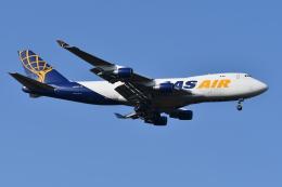 Deepさんが、成田国際空港で撮影したアトラス航空 747-412F/SCDの航空フォト(飛行機 写真・画像)