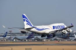 サンドバンクさんが、成田国際空港で撮影したナショナル・エアラインズ 747-412(BCF)の航空フォト(飛行機 写真・画像)
