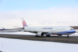 安芸あすかさんが、新千歳空港で撮影したチャイナエアライン A330-302の航空フォト(飛行機 写真・画像)