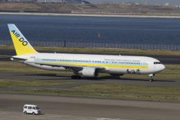 maverickさんが、羽田空港で撮影したAIR DO 767-33A/ERの航空フォト(飛行機 写真・画像)