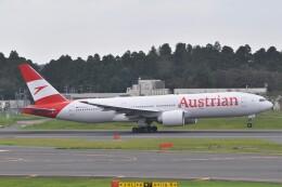 Flying A340さんが、成田国際空港で撮影したオーストリア航空 777-2Z9/ERの航空フォト(飛行機 写真・画像)