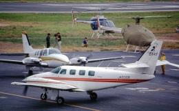 LEVEL789さんが、岡南飛行場で撮影した日本法人所有 T303 Crusaderの航空フォト(飛行機 写真・画像)
