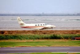 LEVEL789さんが、岡南飛行場で撮影したエス・ジー・シー佐賀航空 T303 Crusaderの航空フォト(飛行機 写真・画像)