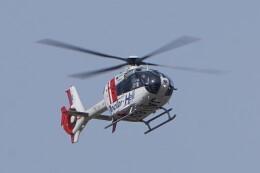 土岐のjunkoさんが、名古屋飛行場で撮影した中日本航空 EC135P2の航空フォト(飛行機 写真・画像)