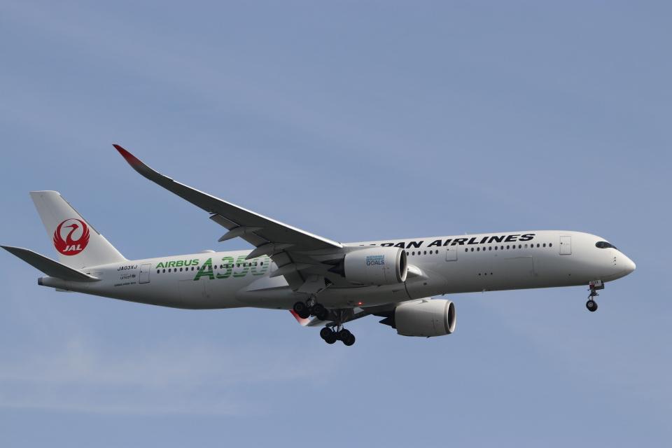 imosaさんの日本航空 Airbus A350-900 (JA03XJ) 航空フォト