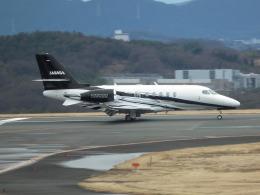 ヒコーキグモさんが、岡山空港で撮影した日本法人所有 Citation Latitude(680A)の航空フォト(飛行機 写真・画像)