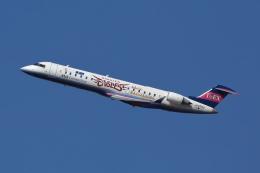 meskinさんが、仙台空港で撮影したアイベックスエアラインズ CL-600-2C10 Regional Jet CRJ-702の航空フォト(飛行機 写真・画像)