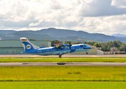 監督さんが、熊本空港で撮影した天草エアライン ATR-42-600の航空フォト(飛行機 写真・画像)