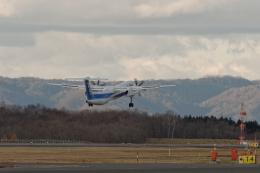 監督さんが、釧路空港で撮影したANAウイングス DHC-8-402Q Dash 8の航空フォト(飛行機 写真・画像)