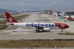 ☆H・I・J☆さんが、関西国際空港で撮影したエーデルワイス航空 A330-243の航空フォト(飛行機 写真・画像)
