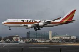 デルタおA330さんが、横田基地で撮影したカリッタ エア 747-4B5(BCF)の航空フォト(飛行機 写真・画像)