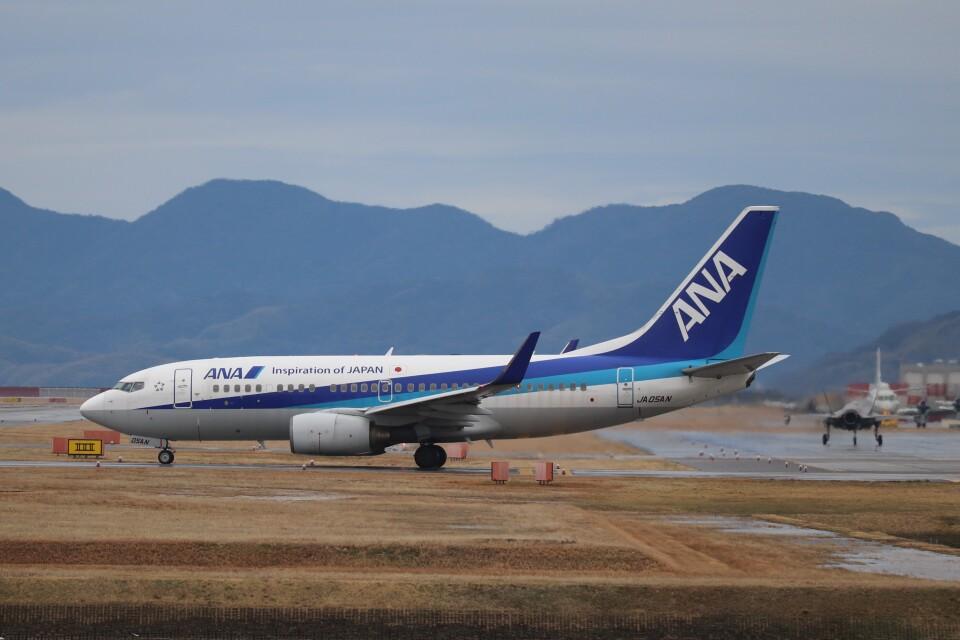 hanatomo735さんの全日空 Boeing 737-700 (JA05AN) 航空フォト