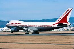 パール大山さんが、伊丹空港で撮影したエア・インディア 747-237Bの航空フォト(飛行機 写真・画像)