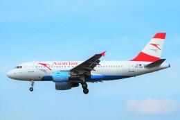 ちっとろむさんが、フランクフルト国際空港で撮影したオーストリア航空 A319-112の航空フォト(飛行機 写真・画像)