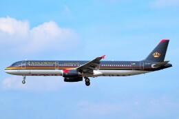 ちっとろむさんが、フランクフルト国際空港で撮影したロイヤル・ヨルダン航空 A321-231の航空フォト(飛行機 写真・画像)