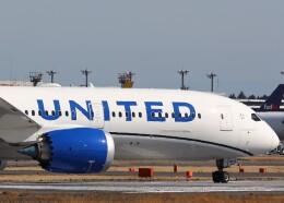 不揃いさんが、成田国際空港で撮影したユナイテッド航空 787-9の航空フォト(飛行機 写真・画像)