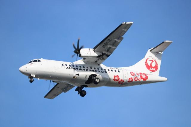 なかすぃ~さんが、伊丹空港で撮影した日本エアコミューター ATR-42-600の航空フォト(飛行機 写真・画像)