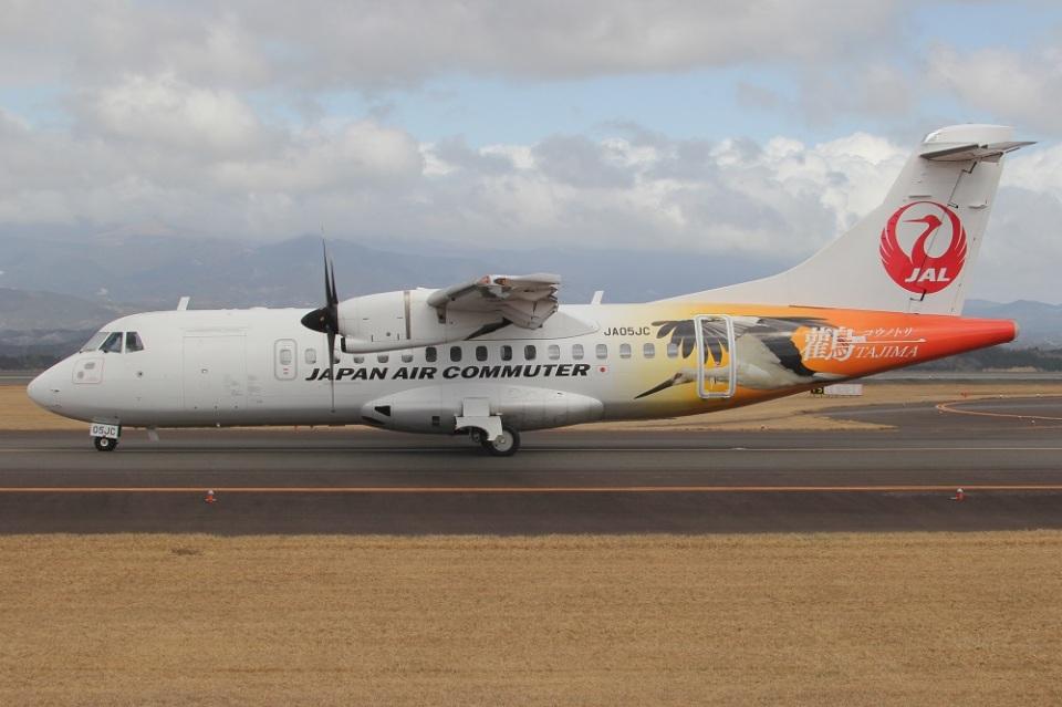 MOR1(新アカウント)さんの日本エアコミューター ATR 42 (JA05JC) 航空フォト