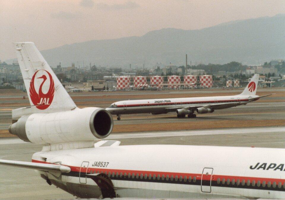 なかすぃ~さんの日本航空 McDonnell Douglas DC-10 (JA8537) 航空フォト