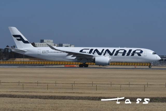 tassさんが、成田国際空港で撮影したフィンエアー A350-941の航空フォト(飛行機 写真・画像)