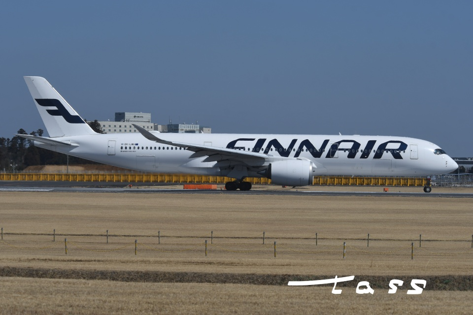 tassさんのフィンエアー Airbus A350-900 (OH-LWH) 航空フォト
