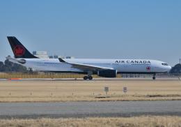 雲霧さんが、成田国際空港で撮影したエア・カナダ A330-343Xの航空フォト(飛行機 写真・画像)