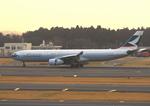 ふじいあきらさんが、成田国際空港で撮影したキャセイパシフィック航空 A330-342Xの航空フォト(写真)