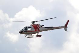 TAKAHIDEさんが、新潟空港で撮影した朝日航洋 AS350B3 Ecureuilの航空フォト(飛行機 写真・画像)