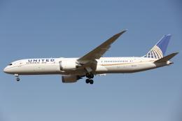 安芸あすかさんが、成田国際空港で撮影したユナイテッド航空 787-9の航空フォト(飛行機 写真・画像)