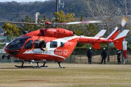 ほてるやんきーさんが、兵庫県で撮影した神戸市航空機動隊 BK117C-2の航空フォト(飛行機 写真・画像)