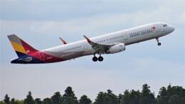 Rsaさんが、成田国際空港で撮影したアシアナ航空 A321-231の航空フォト(飛行機 写真・画像)