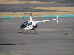 F.YUKIHIDEさんが、岡南飛行場で撮影した日本個人所有 R22 Beta IIの航空フォト(飛行機 写真・画像)
