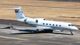 T spotterさんが、名古屋飛行場で撮影したエム・エイチ・アイ・ファイナンス G-IV Gulfstream IV-SPの航空フォト(飛行機 写真・画像)