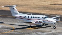 T spotterさんが、名古屋飛行場で撮影したダイヤモンド・エア・サービス 200 Super King Airの航空フォト(飛行機 写真・画像)