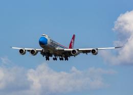 Bokuranさんが、小松空港で撮影したカーゴルクス 747-8R7F/SCDの航空フォト(飛行機 写真・画像)