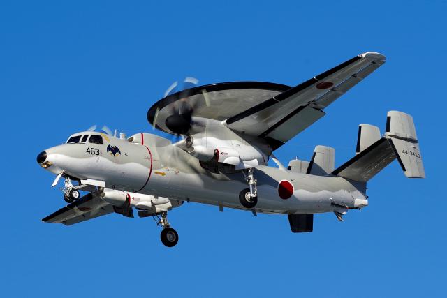 yabyanさんが、岐阜基地で撮影した航空自衛隊 E-2C Hawkeyeの航空フォト(飛行機 写真・画像)